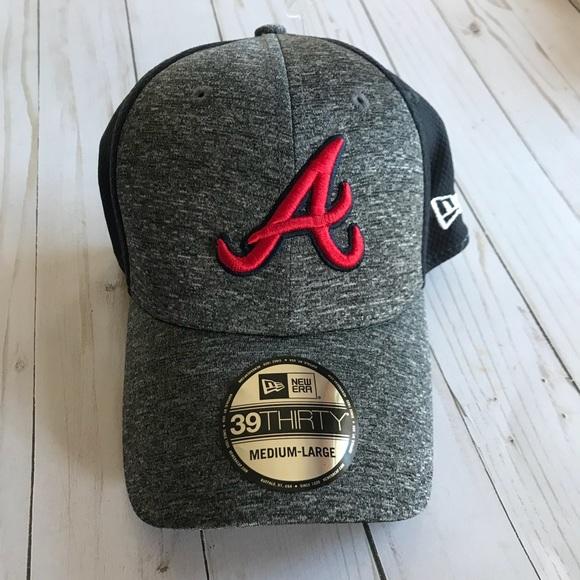 c8c19a5842a Atlanta Braves Shadow Blocker Stretch Fit Hat